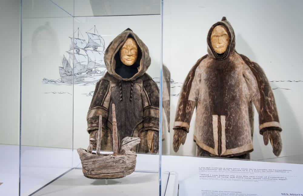Exposition au Musée canadien de l'histoire.