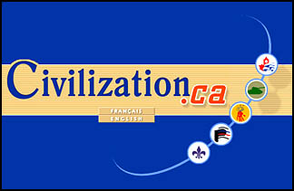 Civilization.ca Splash Page