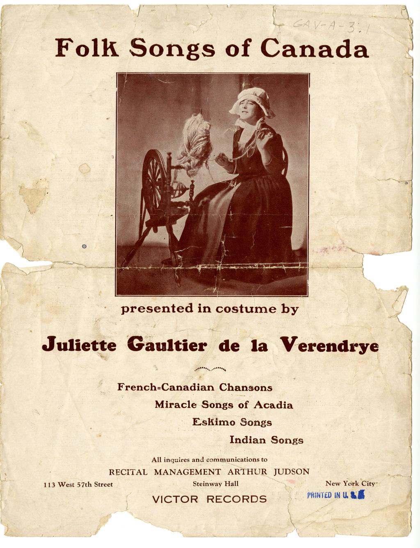 Matériel promotionnel de Juliette Gaultier