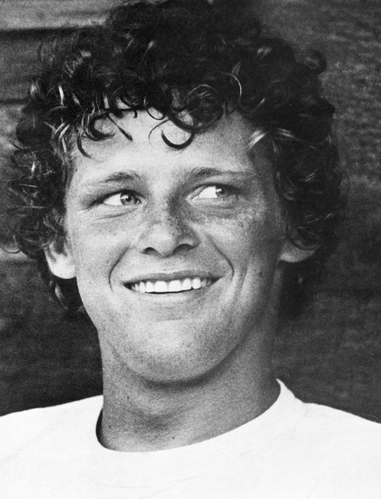 Terry Fox, a Canadian legend.