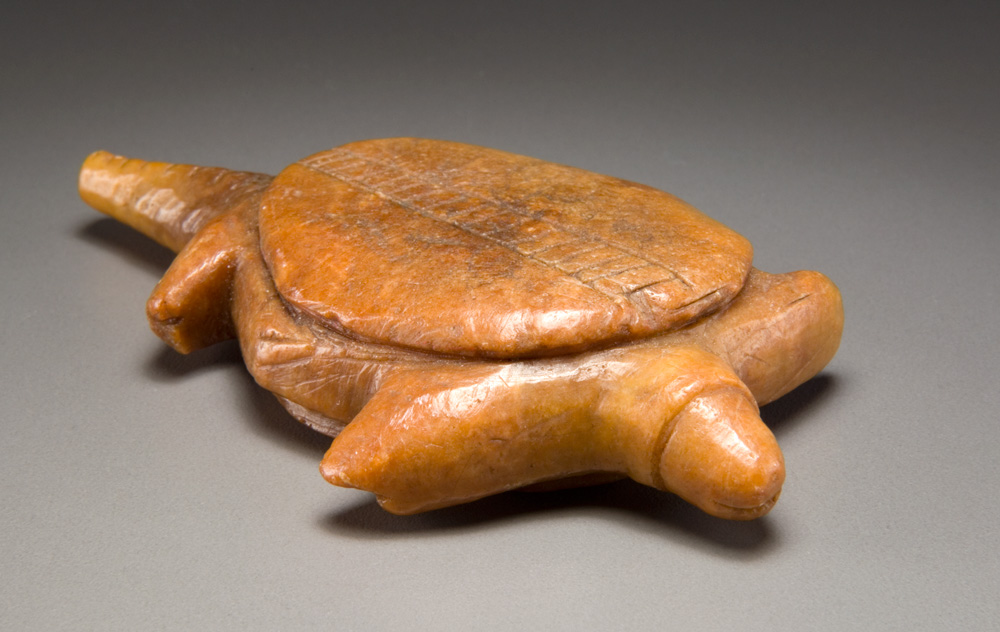 Turtle amulet or figurine