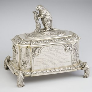 Sir John A. Macdonald's silver casket