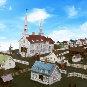 Miniature village of Saint-Jean-Port-Joli