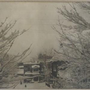 Winter scene, Ottawa