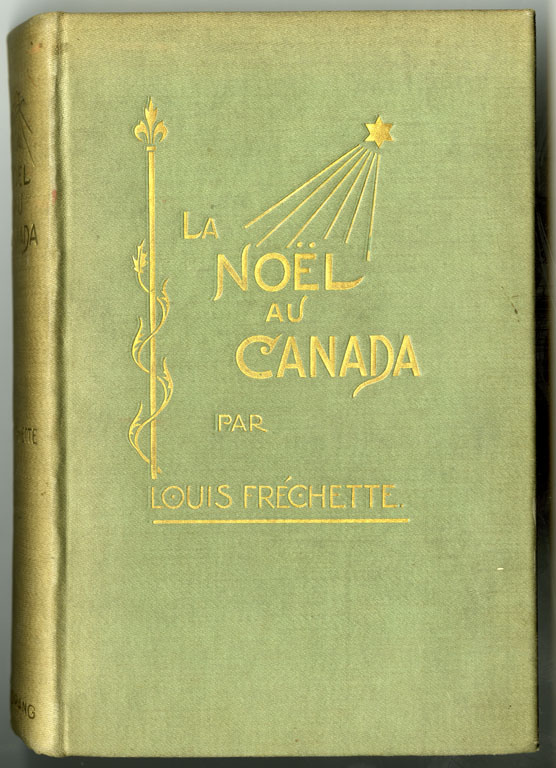 """La Noël au Canada (""""Christmas in Canada"""") by Louis-Honoré Fréchette, from the collection of the Canadian Museum of History. Canadian Museum of History, IMG2015-0117-0013-Dm"""