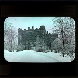A castle looking building