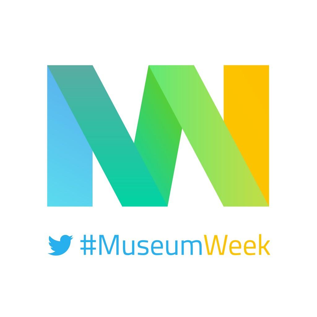 Logo #MuseumWeek 2016, offert gracieusement par #MuseumWeek