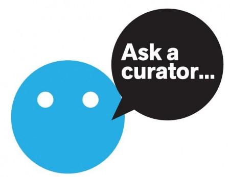 Ask a Curator logo courtesy of Mar Dixon