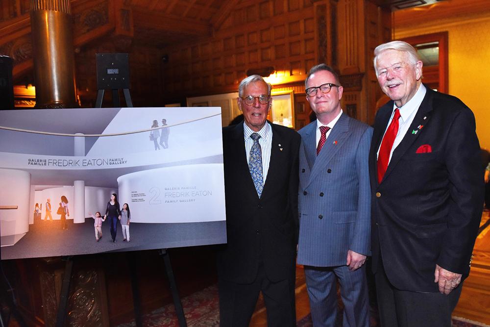 Frederik S. Eaton, Mark O'Neill and James Fleck