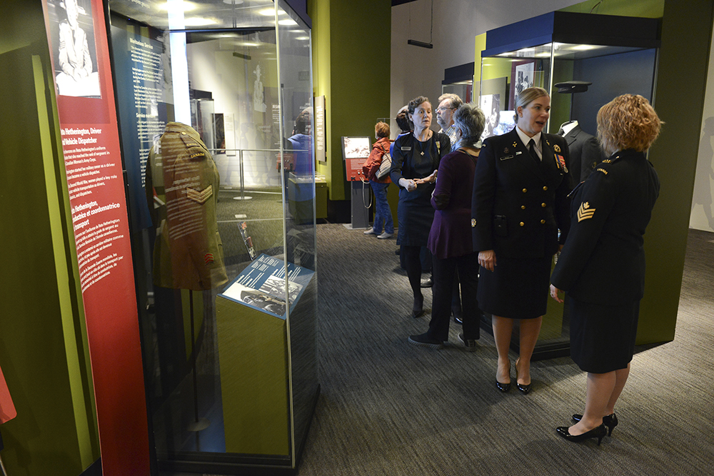 Opening of the World War Women exhibition at the War Museum