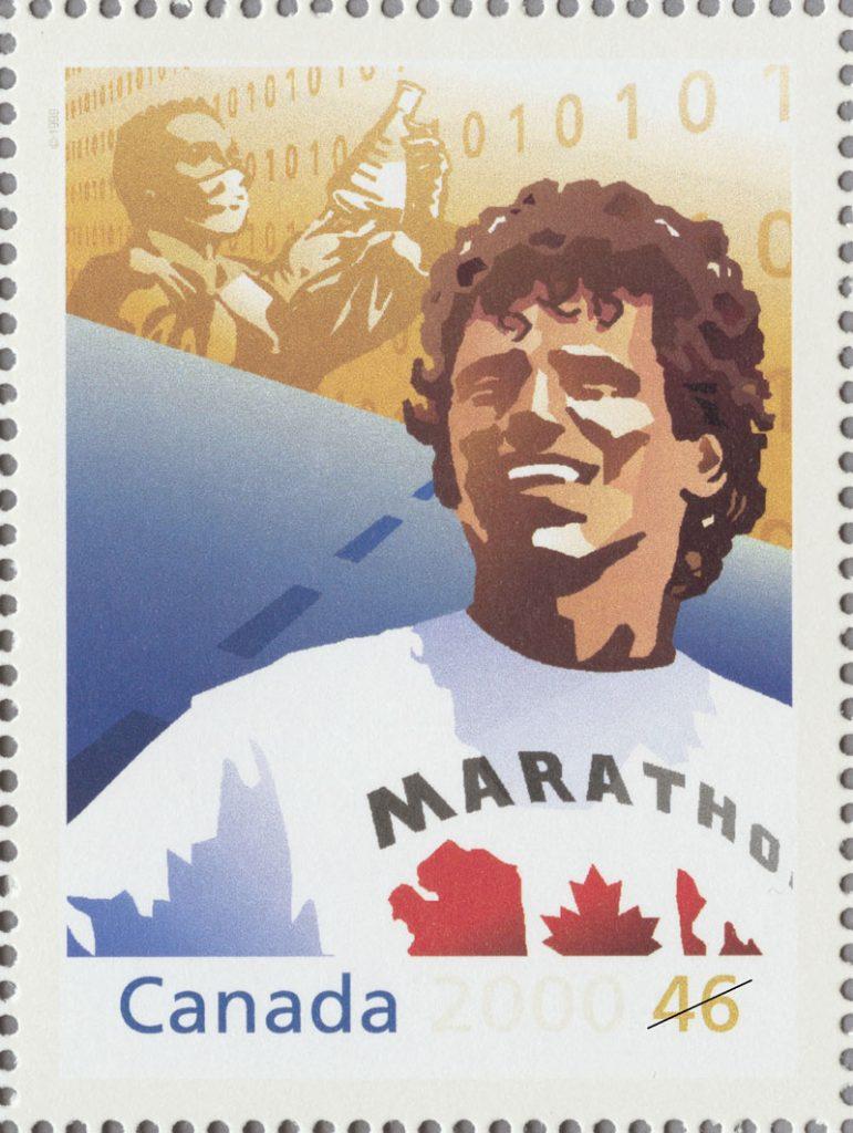 Marathon de l'espoir, Terry Fox Musée canadien de l'histoire, IMG2014-0005-0065-Dp1-Fox