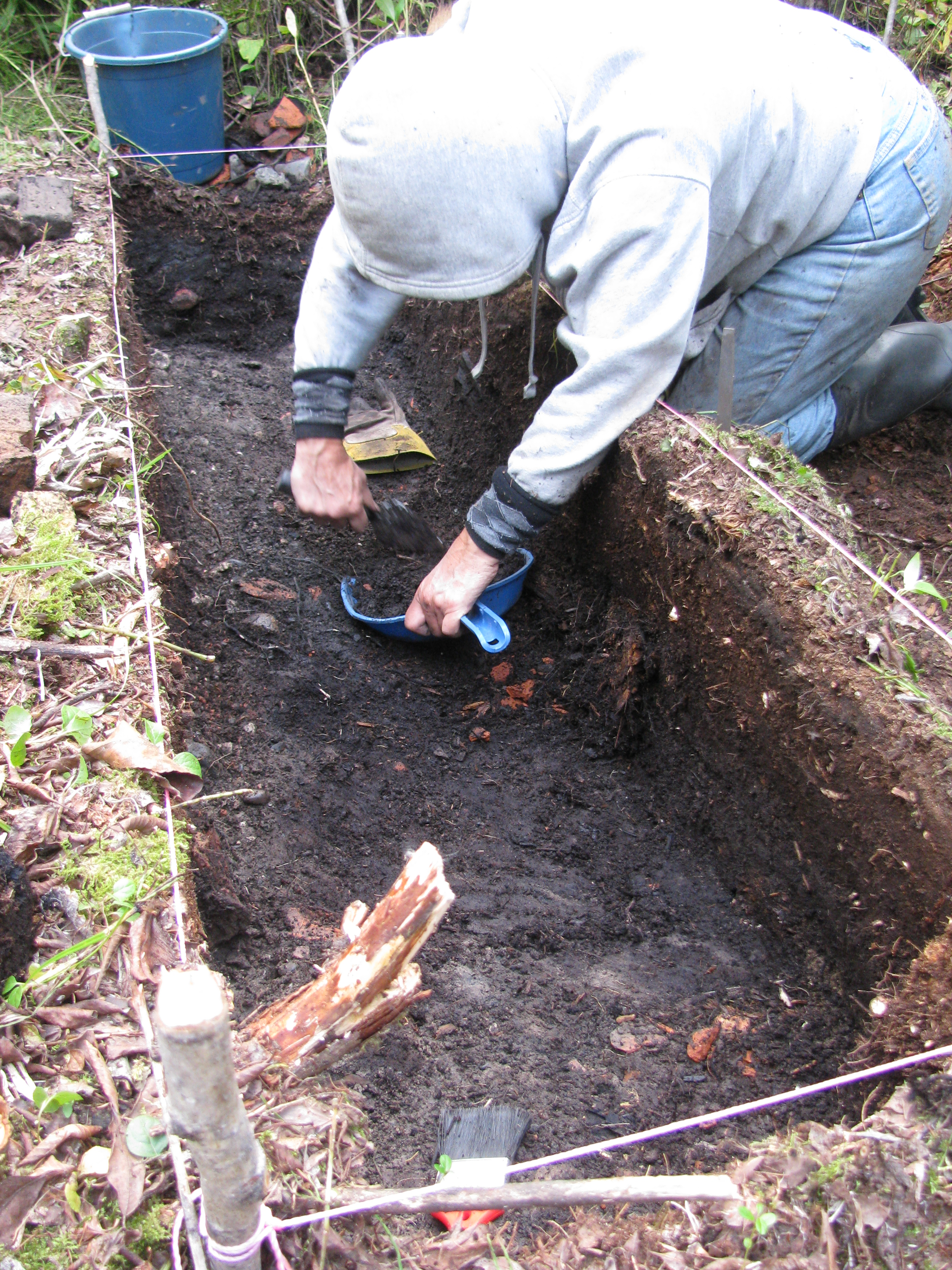 New Severn Post Archaeological Project: The Excavations Begin