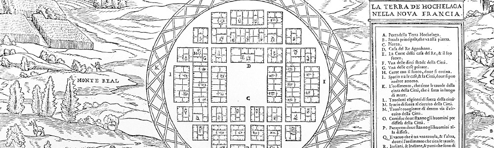 Plan of Hochelaga, Island of Montréal