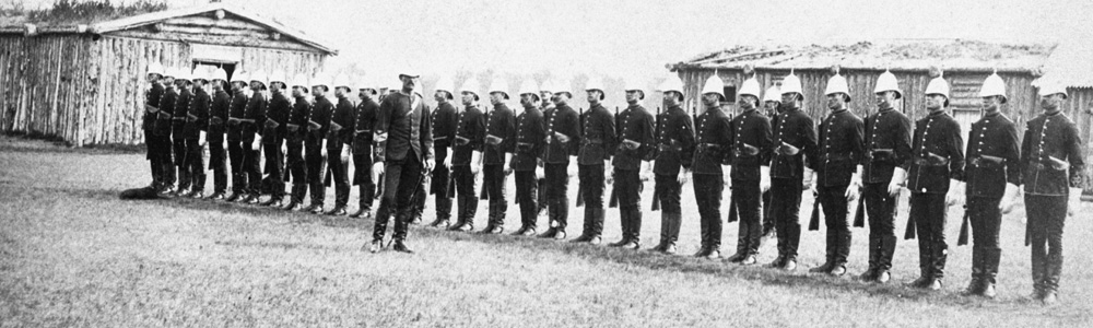 North-West Mounted Police, at Fort Calgary