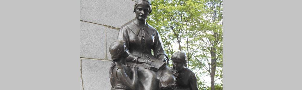 Louis Hébert monument, Québec City