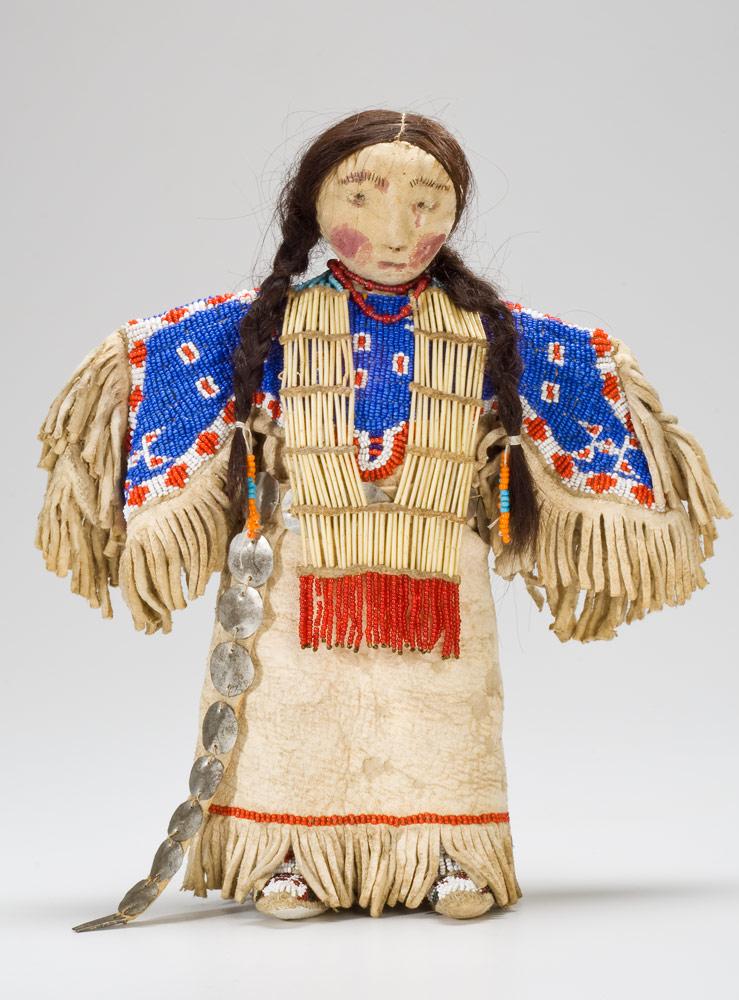 Plains Aboriginal doll