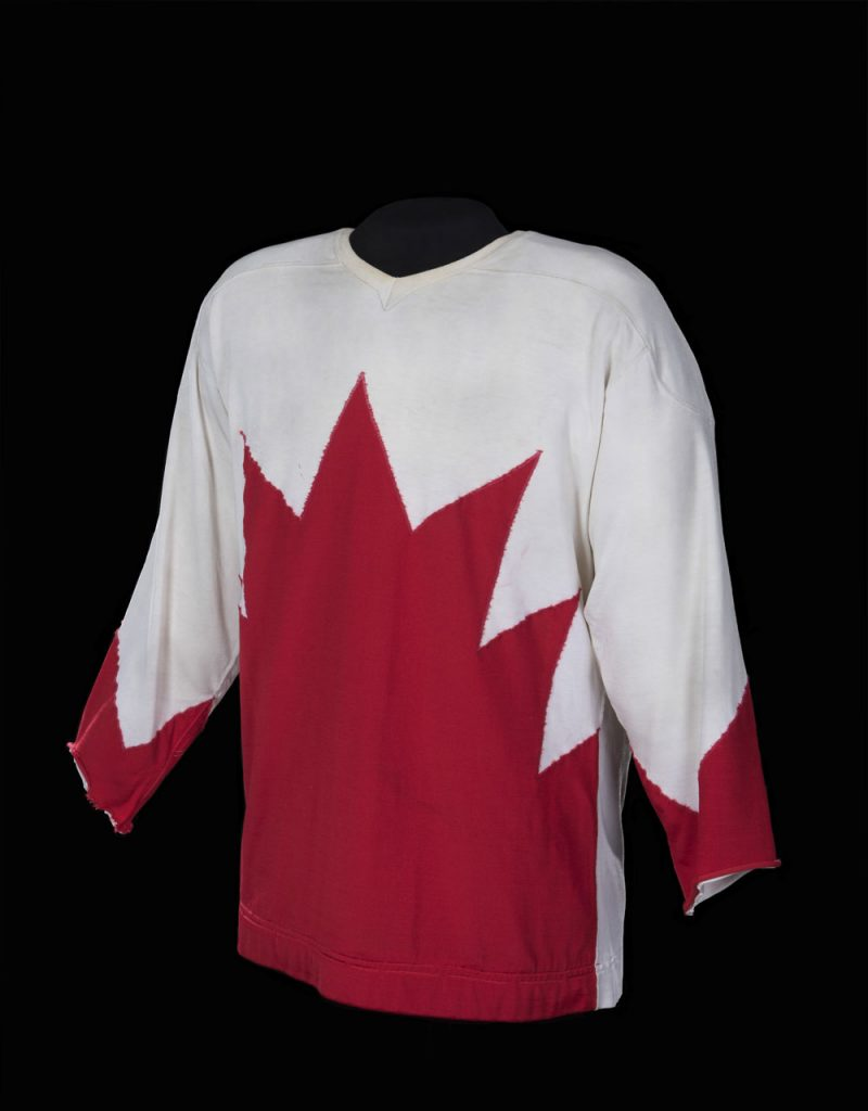 Paul Henderson's Summit Series jersey Worn in Moscow, U.S.S.R. 1972 Private collection, Mitchell Goldhar
