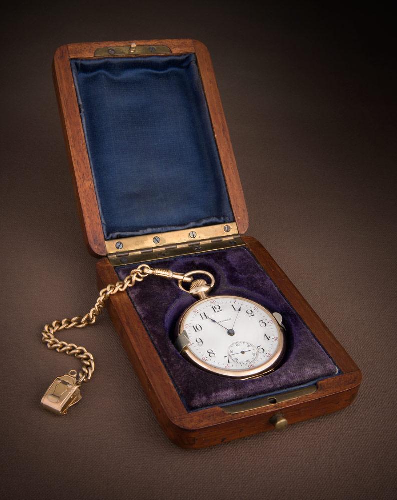 William James Roué Pocket watch