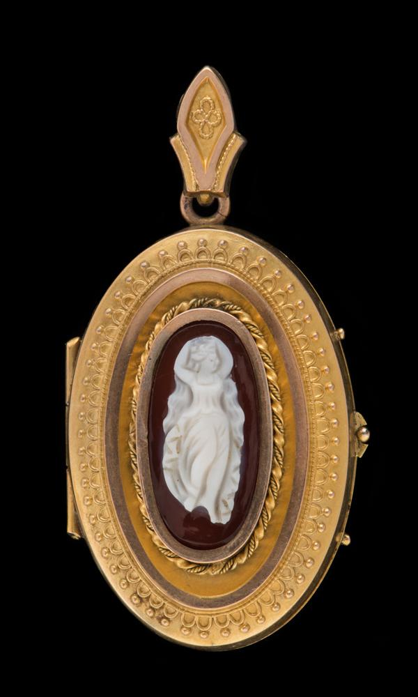 Queen Victoria's cameo locket