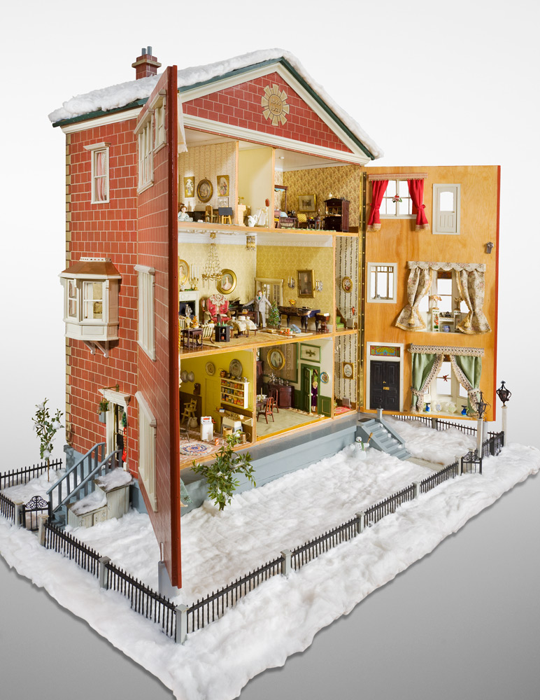The Forster doll house