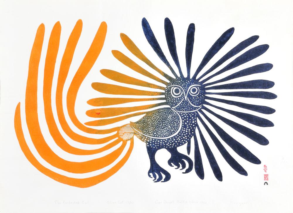 Inuit print