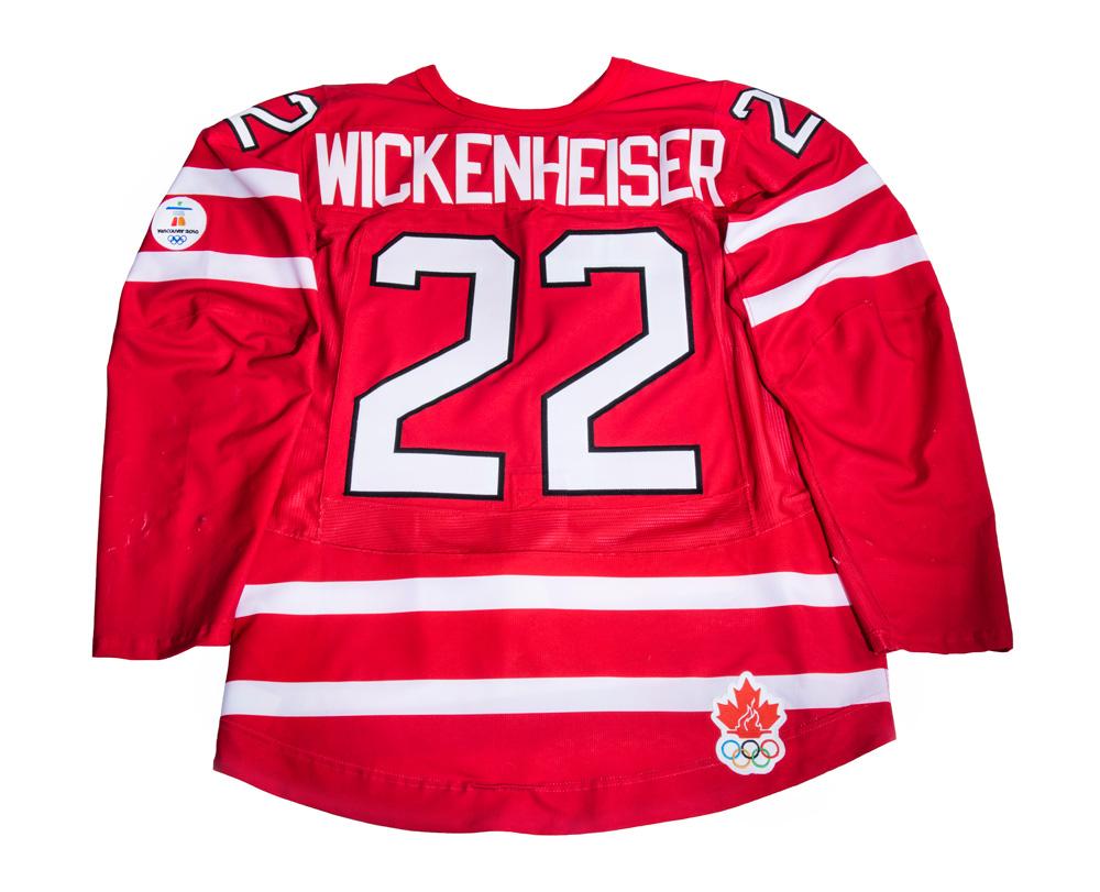 Hayley Wickenheiser's hockey jersey
