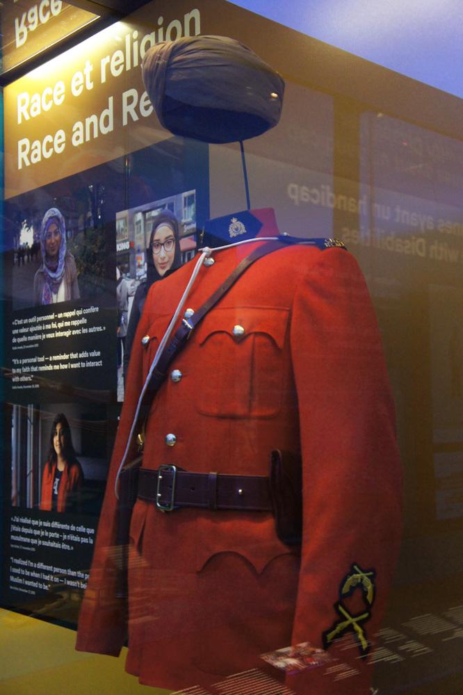 Baltej Singh Dhillon RCMP uniform