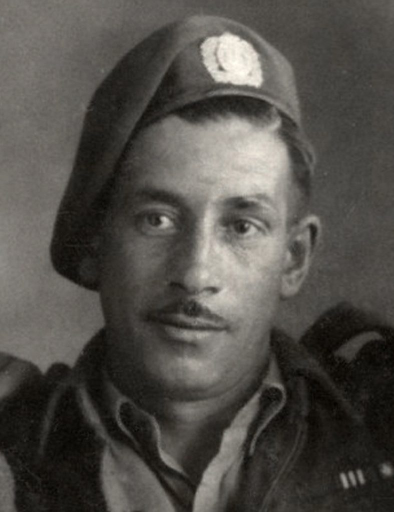 Image of a soldier – Second World War