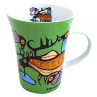 Norval Morrisseau Mug - Moose Harmony:: Tasse Norval Morrisseau - Mosse Harmony