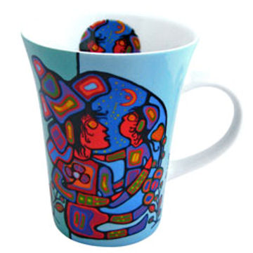 Norval Morrisseau Mug - Mother & Child:: Tasse Norval Morrisseau - Mother & Child