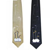 Benjamin Chee Chee Silk Tie - Friends:: Cravate en soie Benjamin Chee Chee - Friends