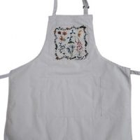 Canadian Wildflower BBQ Apron:: Tablier BBQ fleurs canadiennes