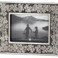 Frame Maple Leaf pewter 4x6:: Cadre feuille d'