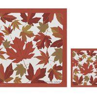 Autumn Maple Leaf coasters (4):: Sous-verres (4) en c