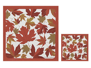 Autumn Maple Leaf coasters (4):: Sous-verres (4) en c