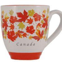 Autumn Maple Leaf Halo Mug:: Tasse en c