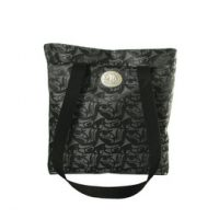 Corinne Hunt 3 Eagles Shopper Bag with Pewter Accent:: Sac pour magasiner orn