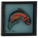Salmon Frame by Artie George:: Le saumon dans un cadre par Artie George