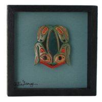 Frog Frame by Artie George:: La grenouille dans un cadre par Artie George