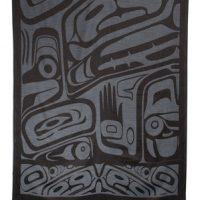 Grey Bear Box Shawl by Clifton Fred::