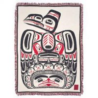 Bill Reid Blanket - Children of the Raven