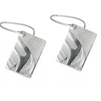 Killer Whale Silver Pewter Nexus Earrings by Corrine Hunt