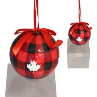 Lumberjack Christmas Paper Ornament