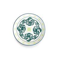 Porcelain Art Plate - Thunderbird by Dylan Thomas