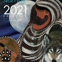 2021 Wall Calendar with Betty Albert's 12 Moons Collection