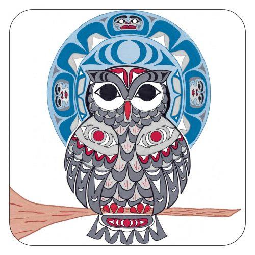 Angela Kimble's Owl Coasters