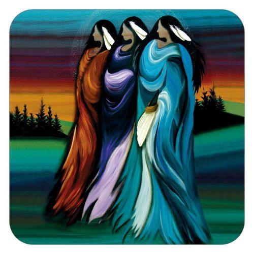 Betty Albert's Three Sisters Coasters
