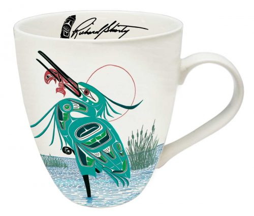 Richard Shorty's Green Heron Mug