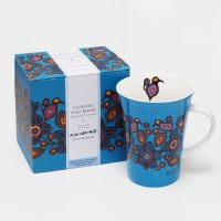 Norval Morrisseau Mug - Flowers and Birds
