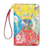 Alex Janvier Morning Star Travel Wallet